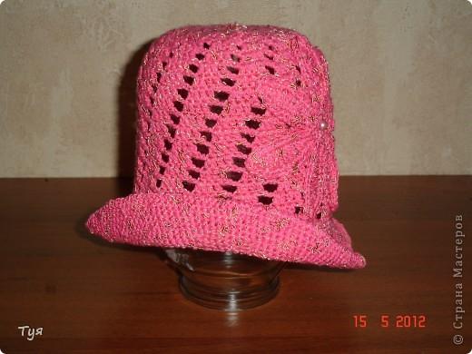 Добрый день мастерицы СМ. На страницах интернета нашла шапульку, понравилась. Решила связать. фото 3