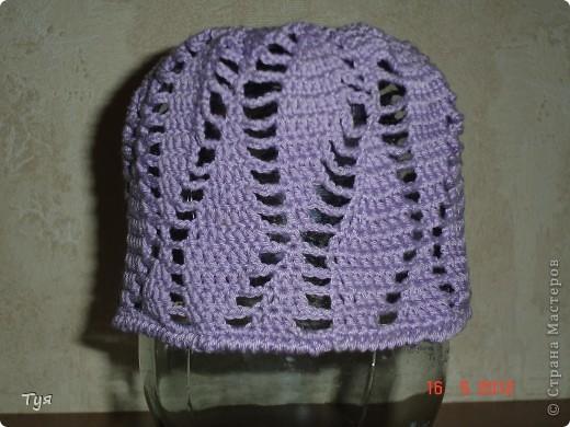 Добрый день мастерицы СМ. На страницах интернета нашла шапульку, понравилась. Решила связать. фото 4