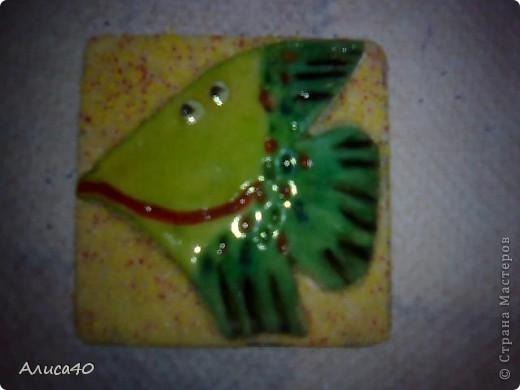 Магнит на холодильник) Рыба-Цитрус) фото 2