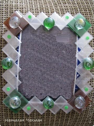 Одно время очень увлеклась плетением из пластиковых полосок (нарезала бутылку) фото 4