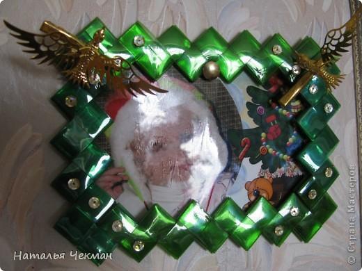 Одно время очень увлеклась плетением из пластиковых полосок (нарезала бутылку) фото 6