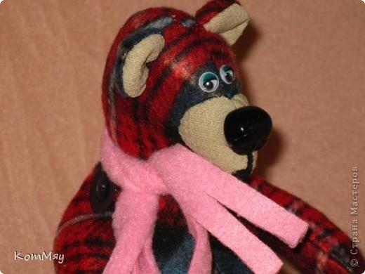 """Дорогие мои мастерицы и мастера! Сегодня я объявляю совместный пошив клетчатых медведей. Приглашаю всех, кто умеет и кто не умеет шить, потому что буду подробно рассказывать как шить такого мишку.  Сразу оговорюсь - шить будем вручную!!! Никаких швейных машинок мы не используем. Пугаться не надо, потому что шить его легко и быстро.   Итак, на всё-про всё нам с вами почти три недели. До конца этой недели мы готовим материалы для шитья. Следующую неделю шьём (хотя, если честно, реально шить его всего два часа!!! Чесслово!). Потом в течение следующей - третьей - недели присылаем мне в электронку (sveta180662@yandex.ru) готовые фотографии ваших клетчатых медведей, я их выкладываю в конце нашего поста и радуемся вместе.  И так мы с вами должны уложиться с пошивом до 1 июня! ПРИУРОЧИВАЕМ ЭТОТ ПОШИВ К ДНЮ ЗАЩИТЫ ДЕТЕЙ!!! А потом.... Потом мы с вами (если получится, сможем ещё и обменяться нашими мишками). Но это уже в июне, если всё пойдёт у нас с вами нормально.   ДОБАВЛЕНО! ВНИМАНИЕ!!! Дорогие мои мастерицы, открываю вам маленький секретик, чтобы немного порадовать вас. По итогам нашего пошива я разыграю лотерею и к тому, кому повезёт, отправится в качестве подарка один из моих клетчатых мишек. Вот такая у нас с вами будет """"конфетка""""...  Дорогие мастерицы! У нас уже есть первые итоги совместного пошива! Приглашаю вас в нашу фотогалерею за вдохновением... http://stranamasterov.ru/node/365539    фото 8"""