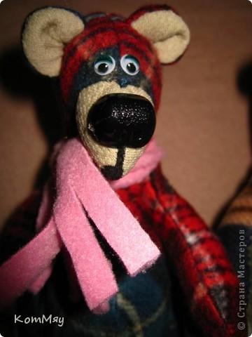 """Дорогие мои мастерицы и мастера! Сегодня я объявляю совместный пошив клетчатых медведей. Приглашаю всех, кто умеет и кто не умеет шить, потому что буду подробно рассказывать как шить такого мишку.  Сразу оговорюсь - шить будем вручную!!! Никаких швейных машинок мы не используем. Пугаться не надо, потому что шить его легко и быстро.   Итак, на всё-про всё нам с вами почти три недели. До конца этой недели мы готовим материалы для шитья. Следующую неделю шьём (хотя, если честно, реально шить его всего два часа!!! Чесслово!). Потом в течение следующей - третьей - недели присылаем мне в электронку (sveta180662@yandex.ru) готовые фотографии ваших клетчатых медведей, я их выкладываю в конце нашего поста и радуемся вместе.  И так мы с вами должны уложиться с пошивом до 1 июня! ПРИУРОЧИВАЕМ ЭТОТ ПОШИВ К ДНЮ ЗАЩИТЫ ДЕТЕЙ!!! А потом.... Потом мы с вами (если получится, сможем ещё и обменяться нашими мишками). Но это уже в июне, если всё пойдёт у нас с вами нормально.   ДОБАВЛЕНО! ВНИМАНИЕ!!! Дорогие мои мастерицы, открываю вам маленький секретик, чтобы немного порадовать вас. По итогам нашего пошива я разыграю лотерею и к тому, кому повезёт, отправится в качестве подарка один из моих клетчатых мишек. Вот такая у нас с вами будет """"конфетка""""...  Дорогие мастерицы! У нас уже есть первые итоги совместного пошива! Приглашаю вас в нашу фотогалерею за вдохновением... http://stranamasterov.ru/node/365539    фото 13"""