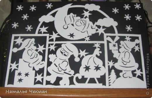 Эти вырезаночки готовились к новогодней выставке фото 2