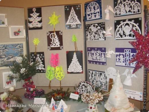 Эти вырезаночки готовились к новогодней выставке фото 3
