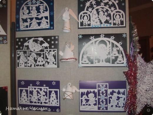 Эти вырезаночки готовились к новогодней выставке фото 5