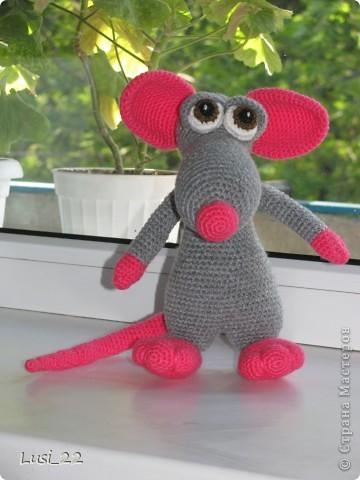 Теперь и у меня есть прелестный мышь. Я в него влюбилась. Наверног самая красивая из моих игрушек (скромная я ))) фото 6