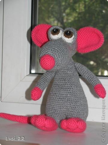 Теперь и у меня есть прелестный мышь. Я в него влюбилась. Наверног самая красивая из моих игрушек (скромная я ))) фото 4