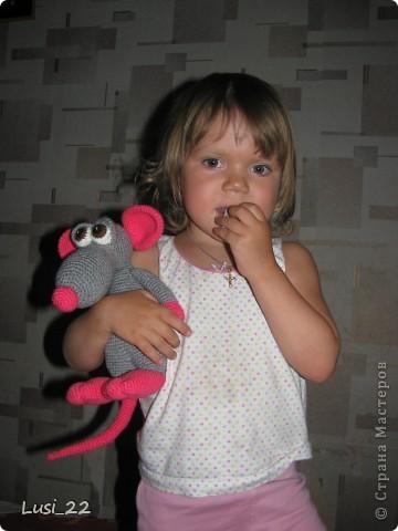Теперь и у меня есть прелестный мышь. Я в него влюбилась. Наверног самая красивая из моих игрушек (скромная я ))) фото 7