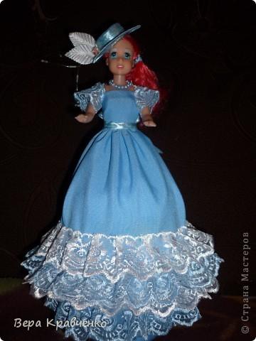 УРА! УРА! УРА! Теперь и у меня есть кукла-шкатулка!!!!!! Давно все приготовила, но никак не могла решиться! Не все получилось идеально, но я не просто горда собой... Я на седьмом небе от счастья!!!!! фото 1