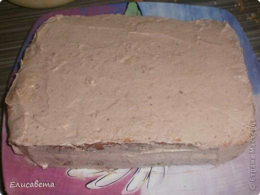 Очень вкусный бисквитный тортик! И, что не мало важно, очень прост в приготовлении. Названия я не знаю, поэтому если у кого то есть идеи, буду благодарна! фото 16