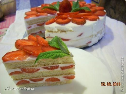 Тортик летний