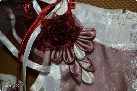 здравствуйте все! представляю мое творение для девочки на 1 годик платье и повязка на голову фото 3