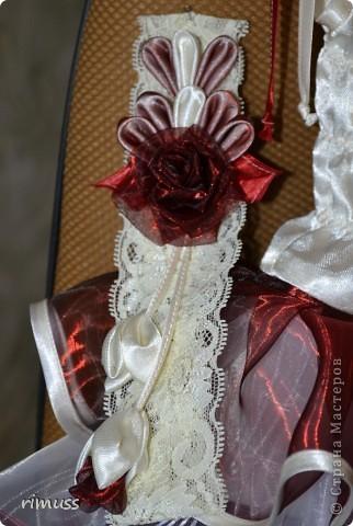 здравствуйте все! представляю мое творение для девочки на 1 годик платье и повязка на голову фото 4
