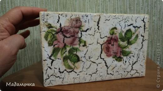 вот такая шкатулочка получилась из жестянойбаночки, что присылала Ирина-Атаманша, чудненький мишка подарен одной замечательной девочке фото 11
