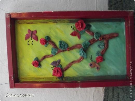 Моя работа, начала делать по МК http://stranamasterov.ru/node/85356, потом свое сделала фото 2