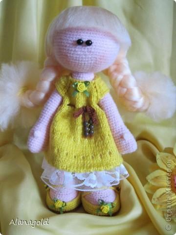 Куколка Снежка , автор Ирина фото 2