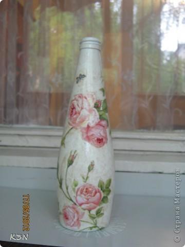 Как из обычной бутылки родилась необычная фото 5