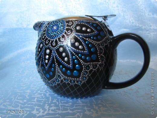 Заварочный чайник в компанию  http://stranamasterov.ru/node/351651 фото 3