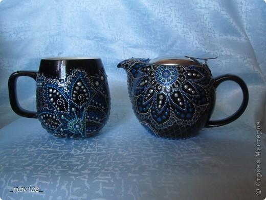 Заварочный чайник в компанию  http://stranamasterov.ru/node/351651 фото 6