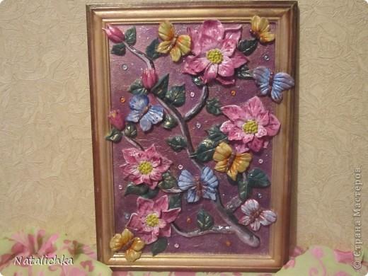 Сделала картину по МК http://stranamasterov.ru/node/add/blog Ларисы Ивановой.Спасибо большое мастеру! фото 1