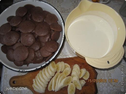 Вот такой тортик я пекла маме на день рождения ))) фото 7