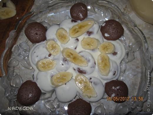 Вот такой тортик я пекла маме на день рождения ))) фото 8