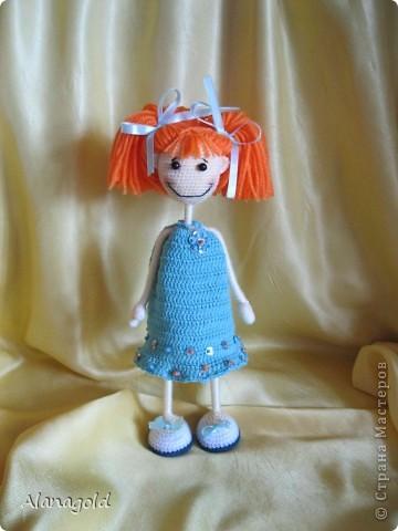 Куколка Снежка , автор Ирина фото 3