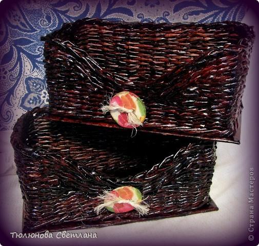 вот, как и обещала выставляю коробочки в ванную для моей дочи в готовом виде фото 2