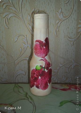 Бутылочка в розовом,летняя. фото 1