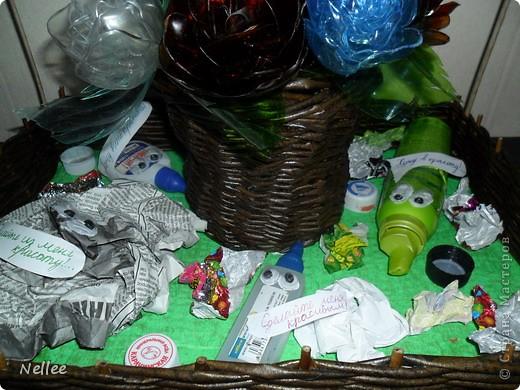"""Это наша с сыночкой поделка на конкурс """"Экологически чистый город"""". фото 8"""