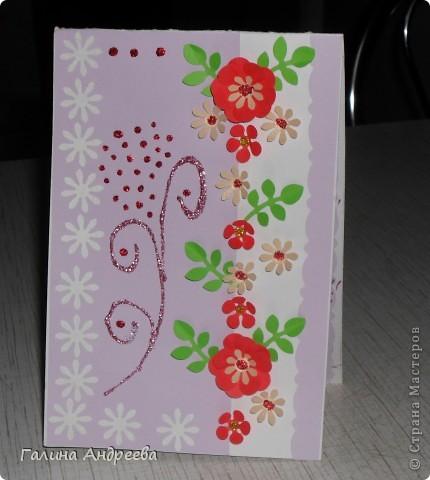 Здравствуйте, жители СМ ! Захотелось показать вам открыточки , которые я делала на разные праздники, чтобы поздравить своих друзей и близких. Я благодарю вас, Мастериц, за ваши идеи и МК, которые пригодились!!! фото 7