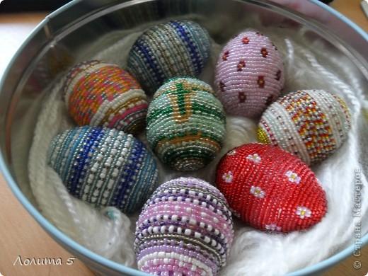 бисерные яйца фото 2