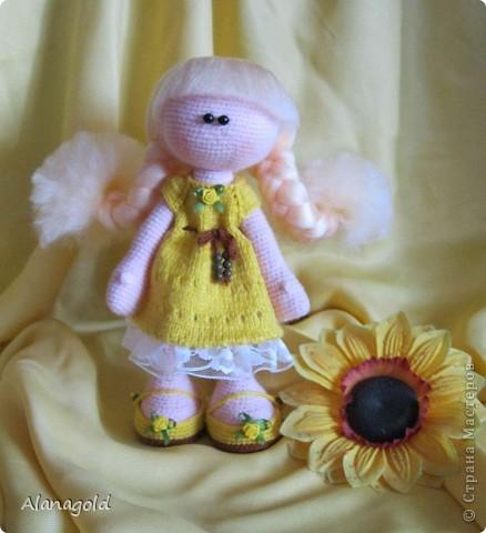 Куколка Снежка , автор Ирина фото 1