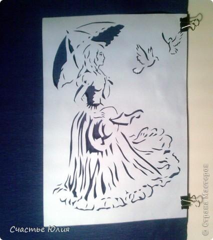 вытынанки. повторяшки. гепард. девушка с зонтом. котята и тп. фото 4