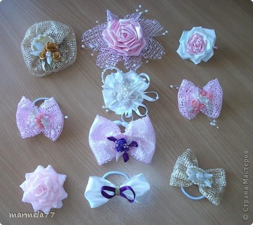 В перерыве между заказами на свадебные наборы решила попробовать сотворить какие-нибудь милые штучки для дочки.  И понеслось... фото 13