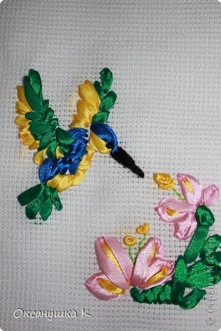 Очень вдохновилась работами Изули, ее прекрасными работами вышивки лентами. И вот что у меня получилось на первом этапе освоения этой техники. фото 7
