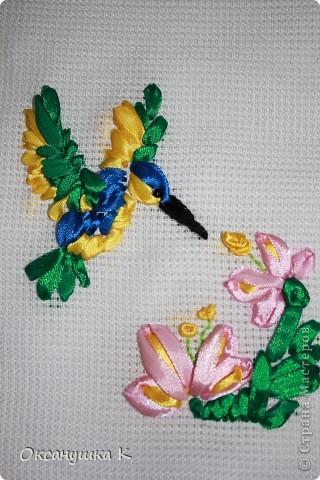 Очень вдохновилась работами Изули, ее прекрасными работами вышивки лентами. И вот что у меня получилось на первом этапе освоения этой техники. фото 1