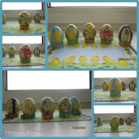 Вдохновившись работами мастериц сайта, сделала с детками вот такие подарочки для родных. Пасхальные наборчики фото 2
