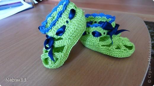 Первые сандалики для малыша