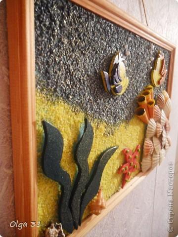 Панно из потолочных плиток