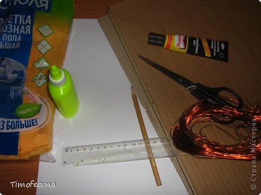 Здравствуйте!! В этом блоге я хочу показать небольшой МК очередной моей мебели из картона для куклы Барби младшей дочки. А именно процесс создания письменного стола. фото 4
