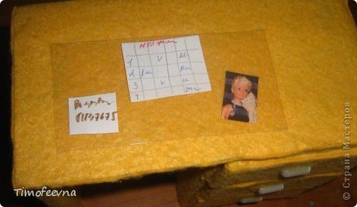 Здравствуйте!! В этом блоге я хочу показать небольшой МК очередной моей мебели из картона для куклы Барби младшей дочки. А именно процесс создания письменного стола. фото 36