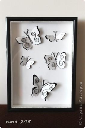 Увидела эту идею в ИКЕА, решила сделать себе такую картинку.. Делалась под черно-белый интерьер,  при желании можно сделать цветные.. фото 1