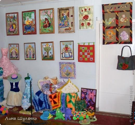 """Вот так выглядит выставка ежегодного конкурса """"Лоскутная мозаика"""" """"Морская феерия"""". фото 4"""