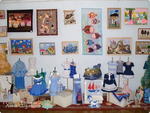 """Вот так выглядит выставка ежегодного конкурса """"Лоскутная мозаика"""" """"Морская феерия"""". фото 2"""