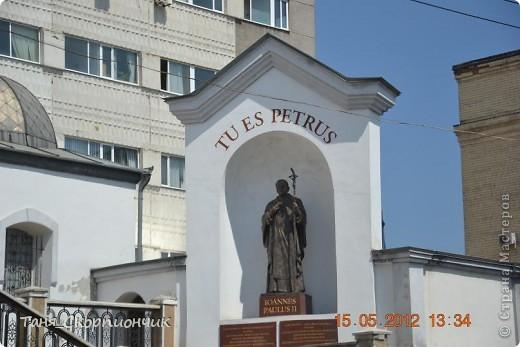 Проснулись. Размялись. Умылись. Подкрепились.  Поехали в Тернополь к давним давним знакомым. К папиному брату. И ещё хотели окрестности посмотреть,но из-за очень холодной погоды. Съездить смогли только в Кременец и Почаев. фото 24