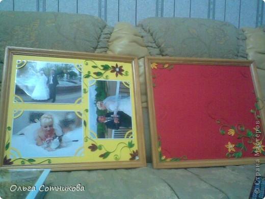 Фотографии деток в рамке, украшенные в технике квиллинг! фото 5