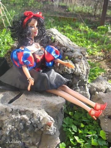 Моя вторая сказочная девочка Белоснежка фото 2