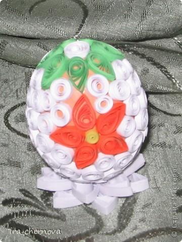 Вот моя веселая семейка декоративных яиц фото 24